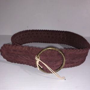 NWT THE LUCKY BRAND soft brown boho leather belt